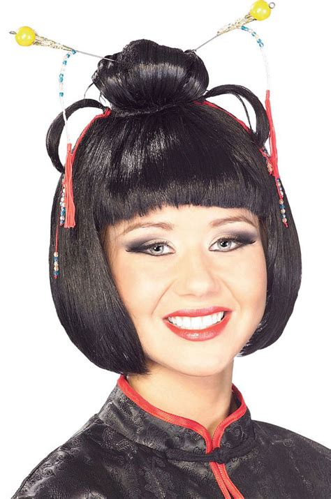 Asian Decorations For Home oriental or geisha wig costume craze