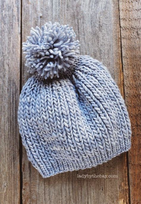 Anthropologie Inspired Knitted Hat Pattern Circular