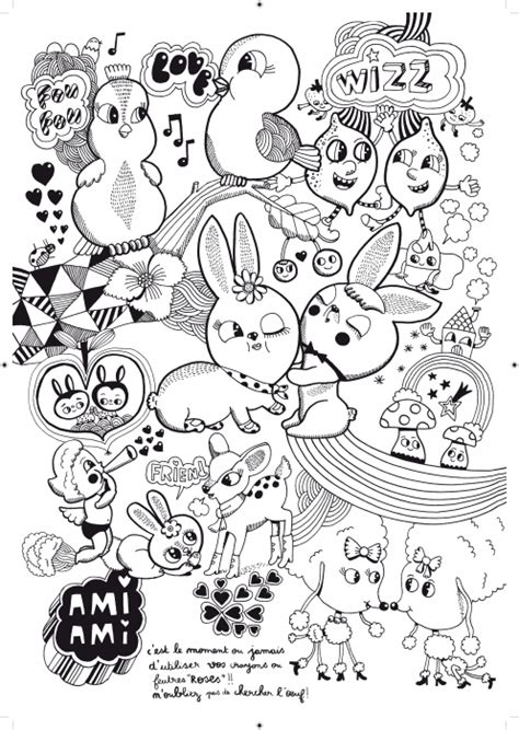 editions thierry magnier lili scratchy le foufou coloriage