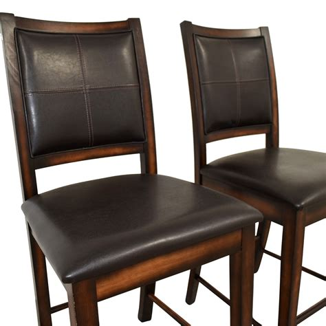Brown Counter Stools by 90 Brown Leather Counter Stools Chairs