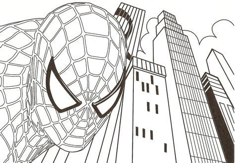 imagenes de spiderman para dibujar faciles spiderman16 dibujo de spiderman para imprimir