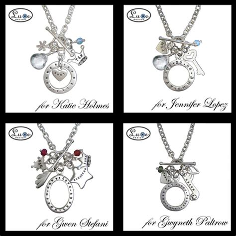 celebrity personalized jewelry luxe design creates personalized jewelry for hollywood s