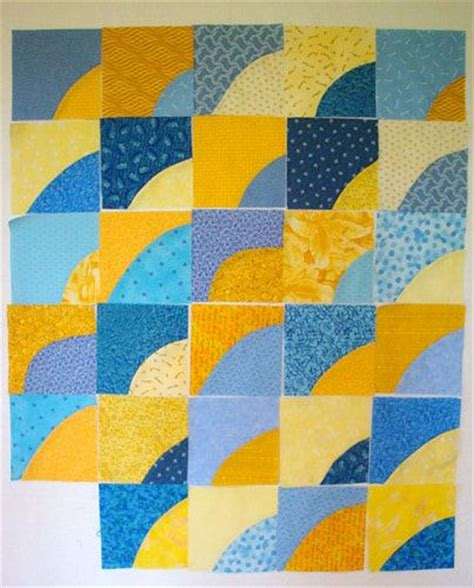 Drunkards Path Quilt Block by Design A Quilt With These Free Quilt Block Patterns