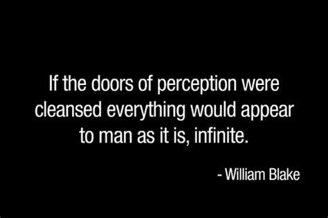 william doors of perception quotes