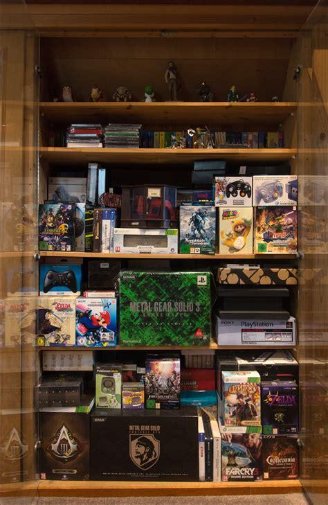 Gaming Closet by Collector S Shelf Shelf