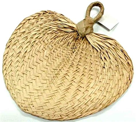 natural raffia hand fans natural raffia hand fans party favors 1 pc tools home
