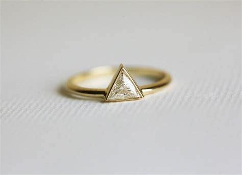 0 3 carat trillion ring engagement ring