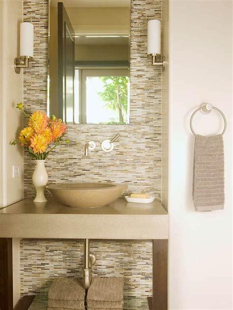 Half Bathroom Tile Ideas by Neutral Color Bathroom Design Ideas Tile Half Baths And