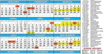 Kalender 2018 Singapore Kalendar 2018 Malaysia House And Home
