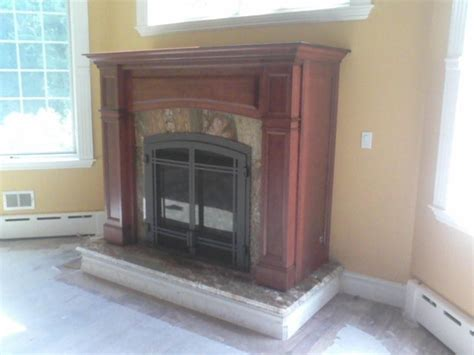 vent free gas fireplace cabinets direct vent gas fireplace in mantel cabinet traditional