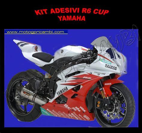 Yamaha R6 2003 Aufkleber by Motoxp Ricambi