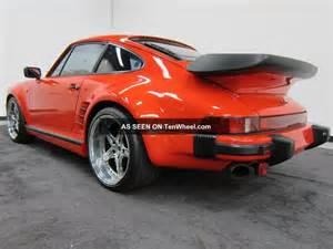 1986 Porsche 911 Turbo 1986 Porsche 930 911 Turbo