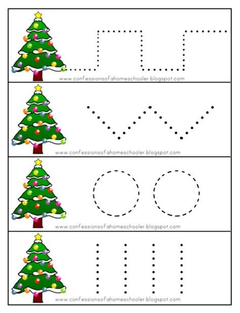 6 best images of free preschool christmas activities