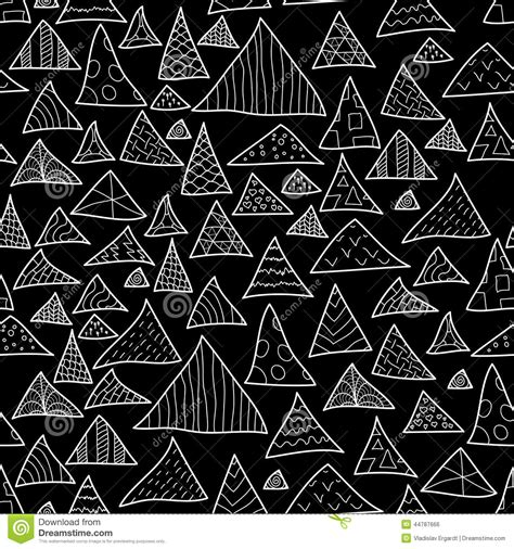 black and white hipster pattern backgrounds seamless background black and white hipster stock vector