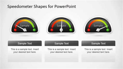 Animated Speedometer Powerpoint Template Youtube Speedometer Powerpoint Template