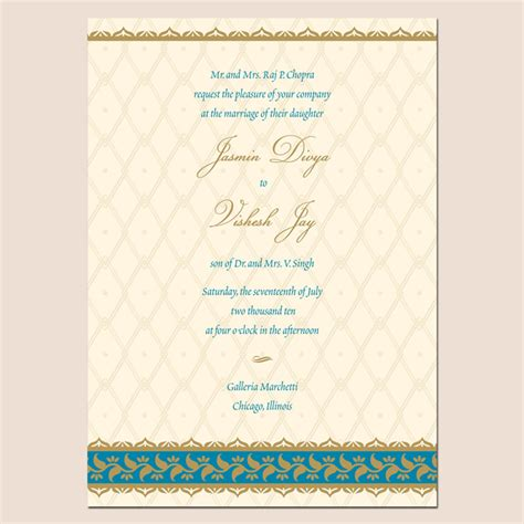 sle indian wedding cards with wordings invitation card wordings for hindu wedding image