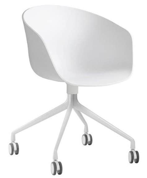 gestell mit rollen hay about a chair 24 armlehn drehstuhl mit rollen wei 223