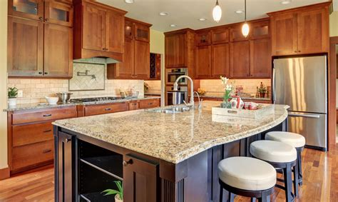 different types of kitchen designs types of kitchen countertops image gallery designing idea