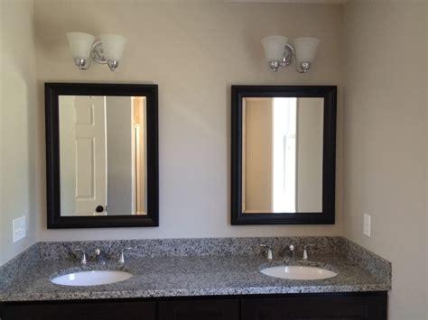 Framed Mirrors Beveled Mirrors Contemporary Bathroom Beveled Mirrors For Bathroom