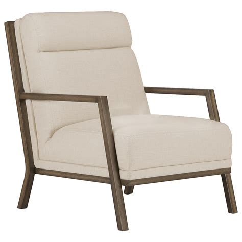 Fabric Accent Chair by City Furniture Brando Beige Fabric Accent Chair