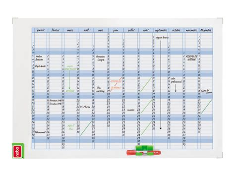 Calendrier F E Nobo Performance Planning Effa 231 Able 224 Sec Annuel 900