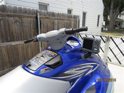 depth finder for ski boat install fish finder on yamaha pwc jet ski with cable thru