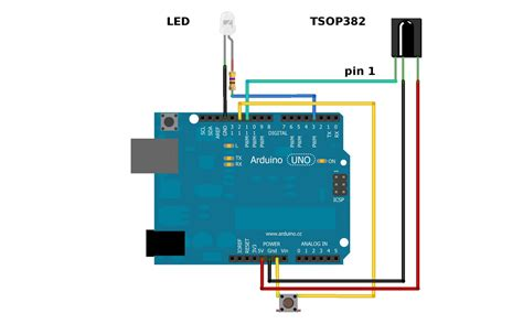 ir led resistor arduino ir communication learn sparkfun