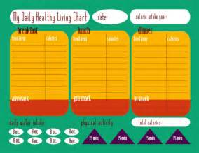 calorie tracking chart free printable this michigan life