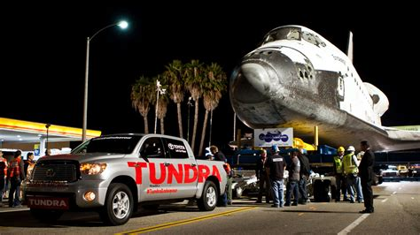 Toyota Shuttle Toyota Pulls Space Shuttle Weight Page 3 Pics About Space