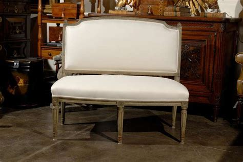 settee bench with back french settee bench with back at 1stdibs