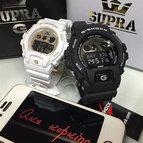 G Shock Gg1000 Black White live photos g shock x supra limited black white