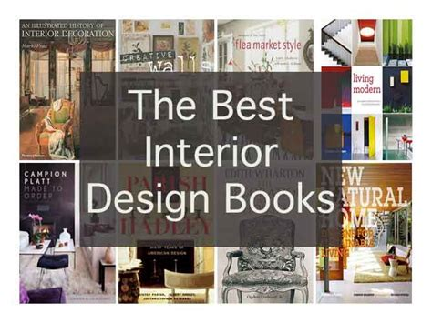Interior Design Books | the best interior design books of all time interior