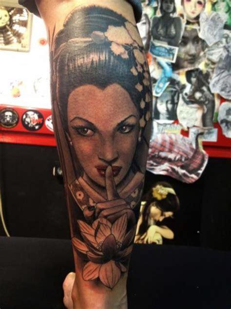 tattoo de geisha en el brazo tatuaje brazo japoneses geisha por wanted tattoo