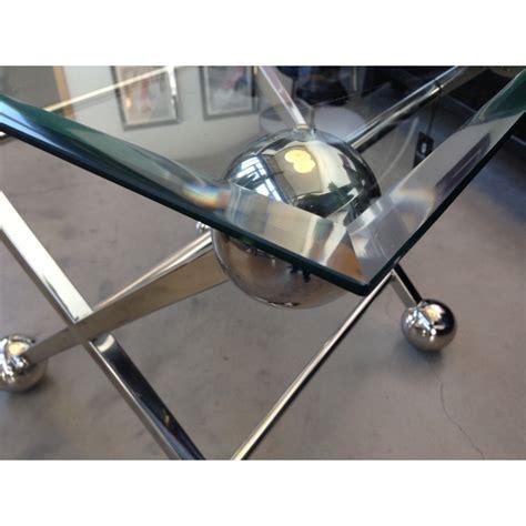 Beistelltisch Glas Metall by Beistelltisch Glas Metall Tisch Glas Verchromt Metall