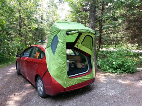 Awning Tents Habitents Prius Tent For Hatchback Car Camping Home