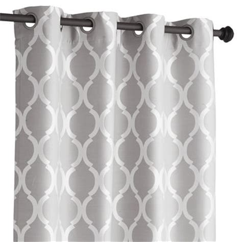 moorish tile curtain moorish tile curtain gray 84 quot pier 1 imports
