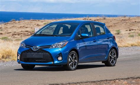 2015 Toyota Yaris Car And Driver