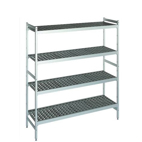 Narrow Storage Shelves Cold Store Storage Shelving Narrow Width Polymer