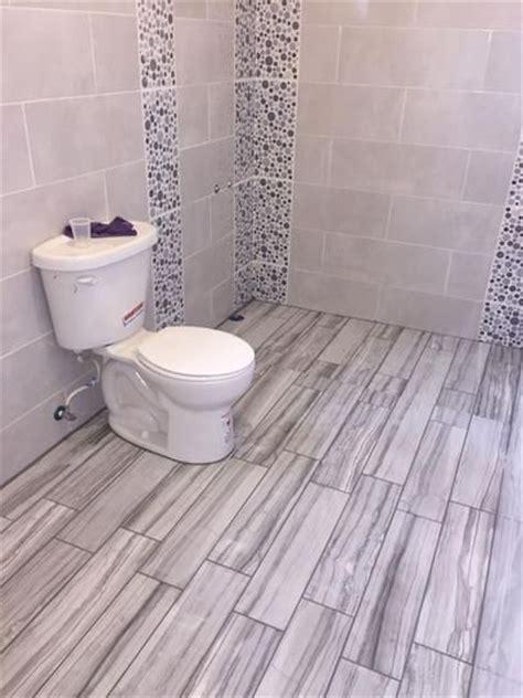 MARAZZI VitaElegante Grigio 6 in. x 24 in. Porcelain Floor