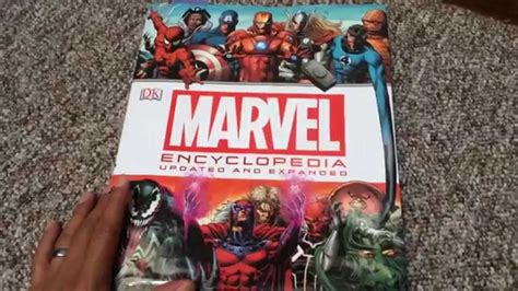 marvel encyclopedia cafechoo image marvel encyclopedia