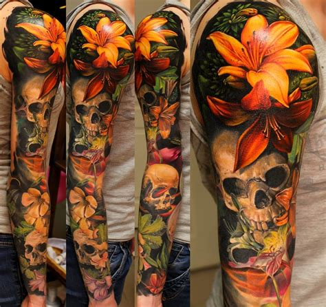 nature sleeve tattoo 20 realistic nature sleeves tattoodo
