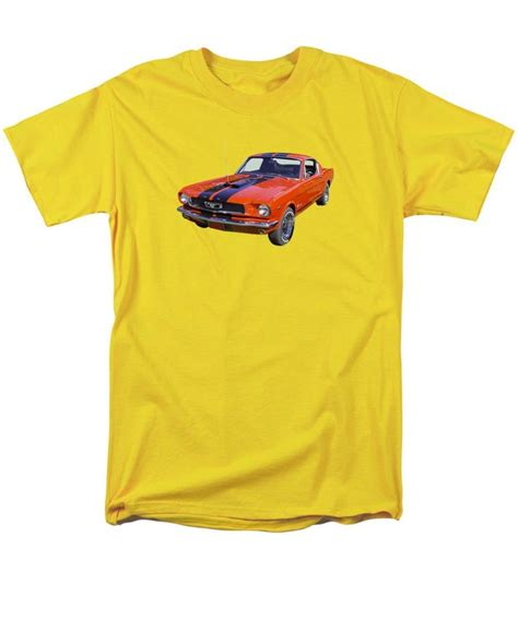 1966 ford mustang fastback t shirt many sizes colors and