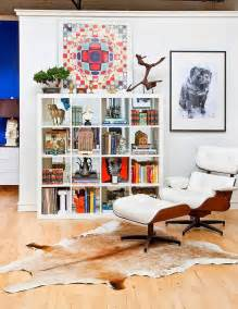 expedit bookshelves different ways to use style ikea s versatile expedit shelf