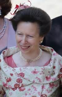 Princess anne s jewelry at zara phillips wedding