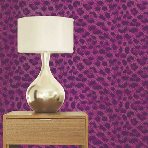 luxury leopard print wallpaper 10m room decor all colours