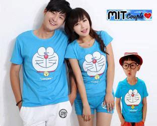 Lu Tidur Karakter Doraemon jual baju kaos family keluarga karakter doraemon keren modis murah metsu shop