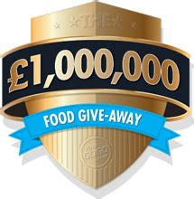 Million Pound Giveaway - one million pound food giveaway