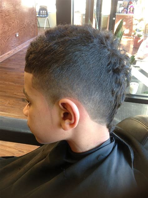 mohawk part designs faded mohawk with 3 part design mens kids hairstyles
