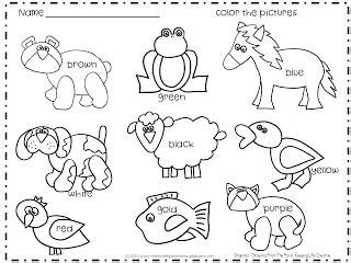 coloring pages for brown bear by eric carle 1000 images about brown bear brown bear what do you see