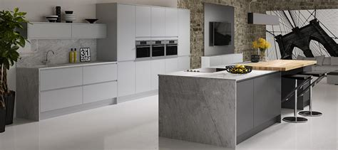 trends kitchens and bathrooms modern painted kitchen ranges from newage kitchens